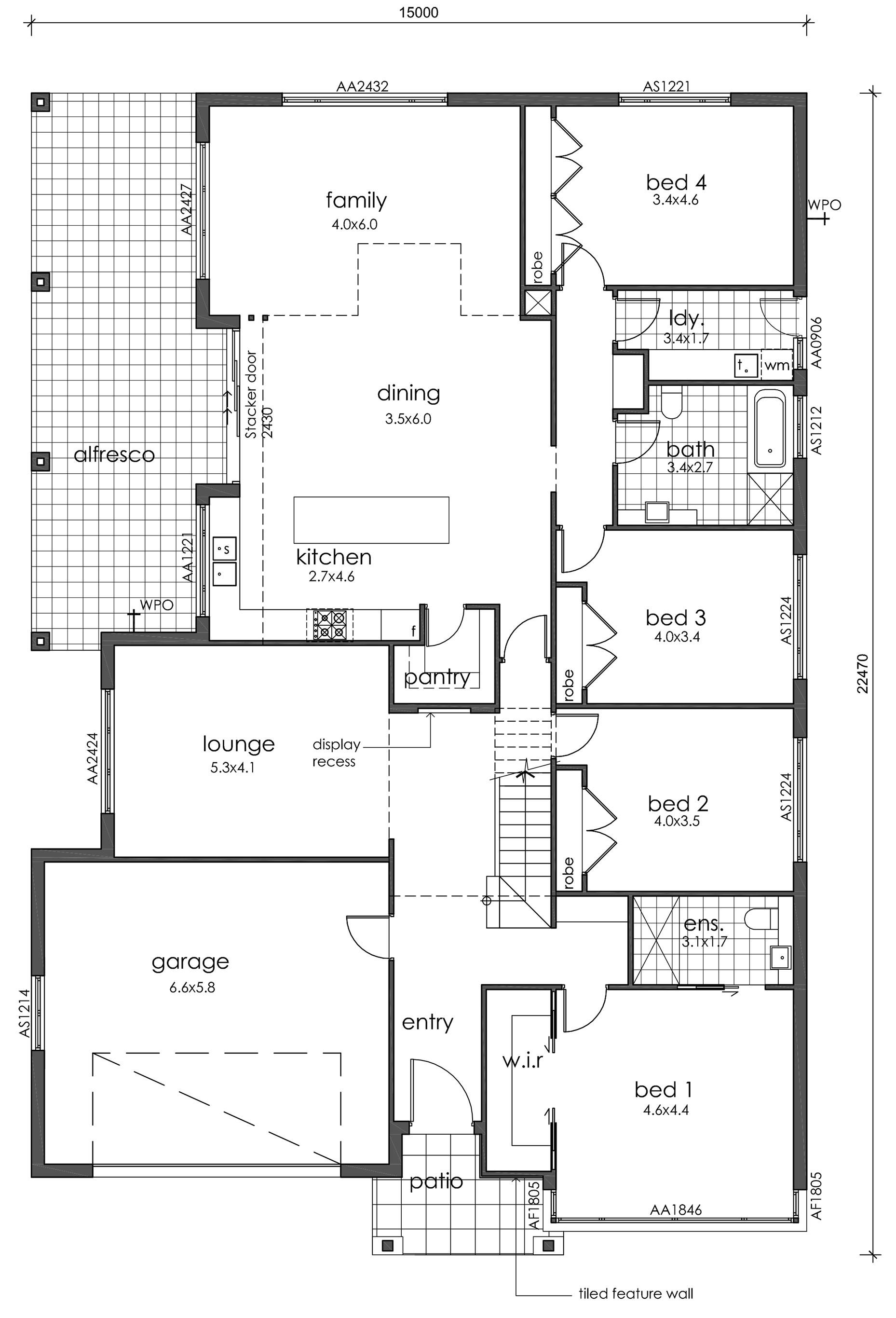 Floorplan Burleigh